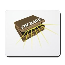 suitcase of courage Mousepad