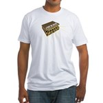 suitcase of courage Fitted T-Shirt