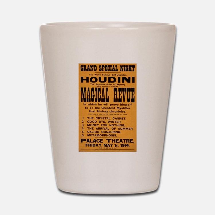 Houdini Magical Revue Shot Glass