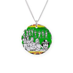Conga Against Cancer Necklace