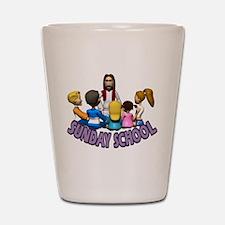 Sunday School Shot Glass