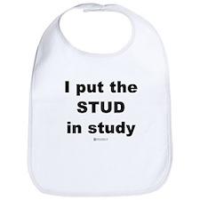 Stud in Study -  Bib