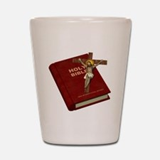 Holy Bible Shot Glass