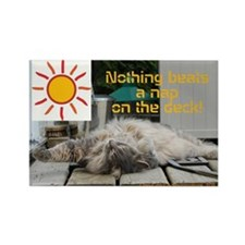 A Nap in the Sun Magnet