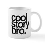 Cool story bro Coffee Mugs