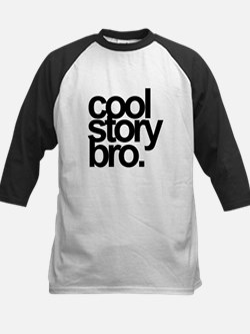 Cool Story Bro Kids Baseball Jersey