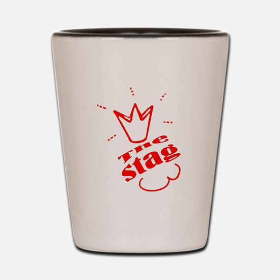 Stag The Bachelor party Shot Glass