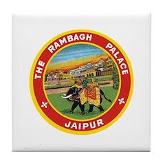 Elephant Jaipur Tile Coaster