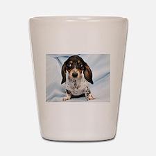 Speckled Puppy Shot Glass