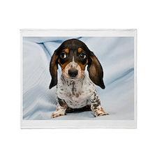 Speckled Puppy Throw Blanket