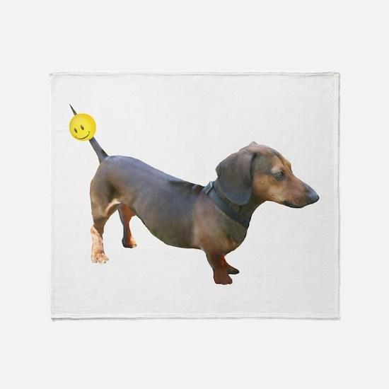 Cute Dachshunds Throw Blanket