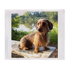 By The Lake Throw Blanket