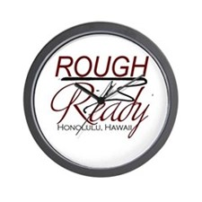 Rough n Ready Wall Clock