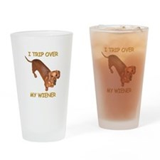 Trip Wiener Drinking Glass
