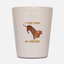 Trip Wiener Shot Glass