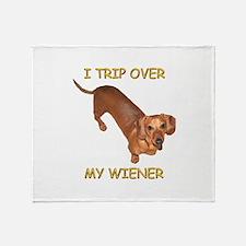 Trip Wiener Throw Blanket
