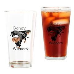 Boney Wieners Drinking Glass