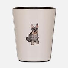 Scotty Dog Silver Shot Glass