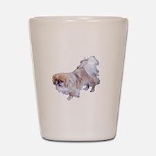 Pekingese Dog Shot Glass