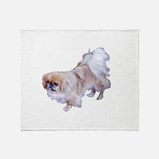 Pekingese Dog Throw Blanket