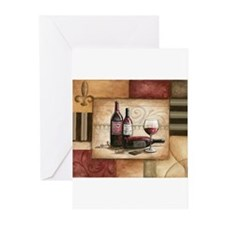 Wine and Chocolate Greeting Cards (Pk of 10)