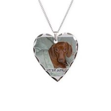 Mornings Dog Necklace