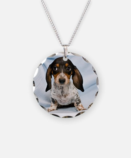 Speckled Puppy Necklace