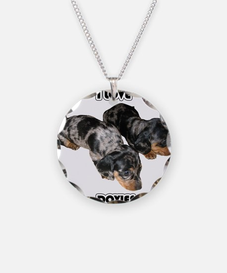 I Love Doxies Necklace