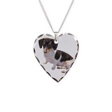 Black & White Doxie Necklace