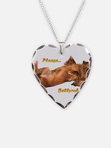 Bellyrub Doxie Necklace