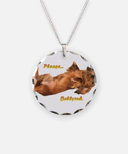 Bellyrub Doxie Necklace