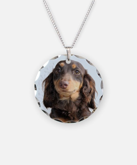 Long Hair Doxie Necklace
