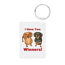 Two Wieners Keychains