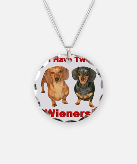 Two Wieners Necklace