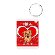 Love My Wiener Keychains