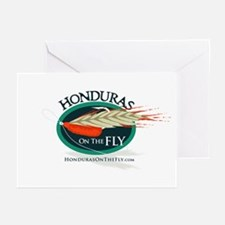 Honduras on the Fly Greeting Cards (Pk of 10)