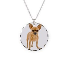 Chihuahua Stand Necklace