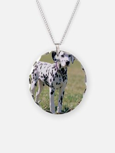 Dalmatian Puppy Necklace