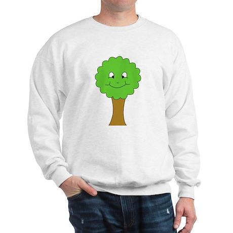 Happy Cartoon Tree Sweatshirt