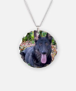 Black German Shepard Necklace