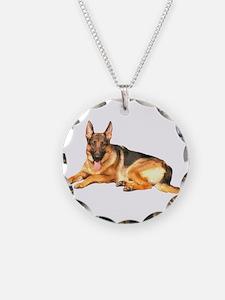 German Shepard Dog Necklace