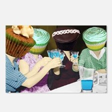 Cupcakes In The Kitchen... Postcards (Package of 8