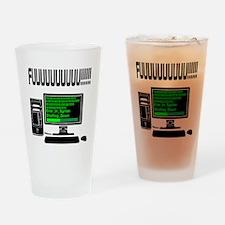 Computer_Error Drinking Glass