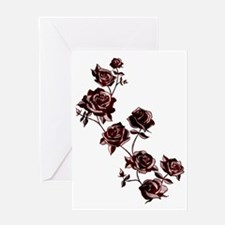 All the Pretty Roses Greeting Card