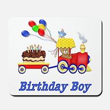Birthday Train - Boy Mousepad