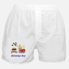 Birthday Train - Boy Boxer Shorts