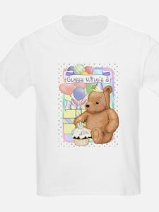 Third Birthday Teddy T-Shirt