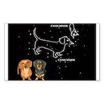 Canis Major Sticker (Rectangle 10 pk)