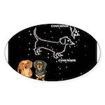 Canis Major Sticker (Oval 10 pk)