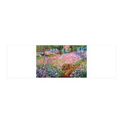 Garden Doxie 21x7 Wall Peel